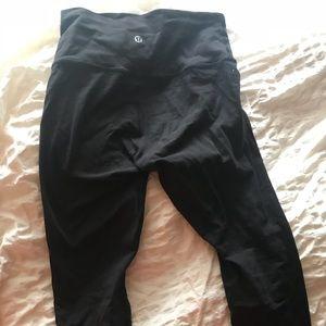 Lululemon black High Times pant
